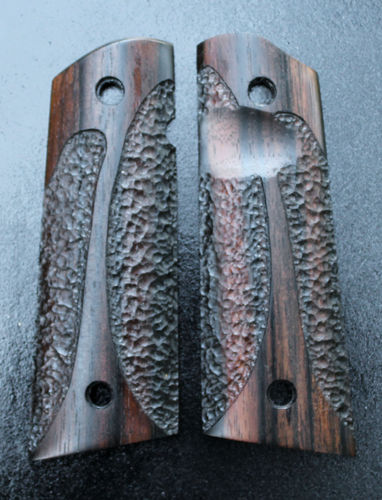 Macassar Ebony, double cut-away stipple SOLD