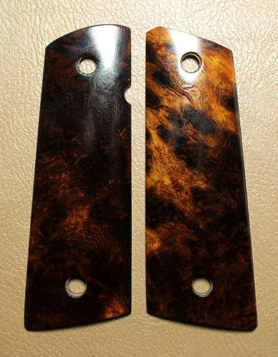 Dark Desert Ironwood burl SLIM