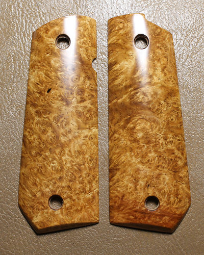 stabilized Golden Amboyna burl  SOLD
