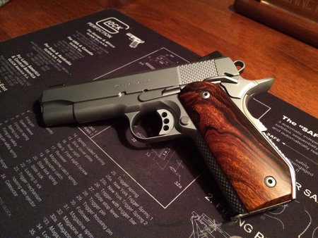 High contrast Desert Ironwood on Ed Brown Kobra Carry. Thanks, Bill E.\\n\\n1/18/2016 4:19 PM